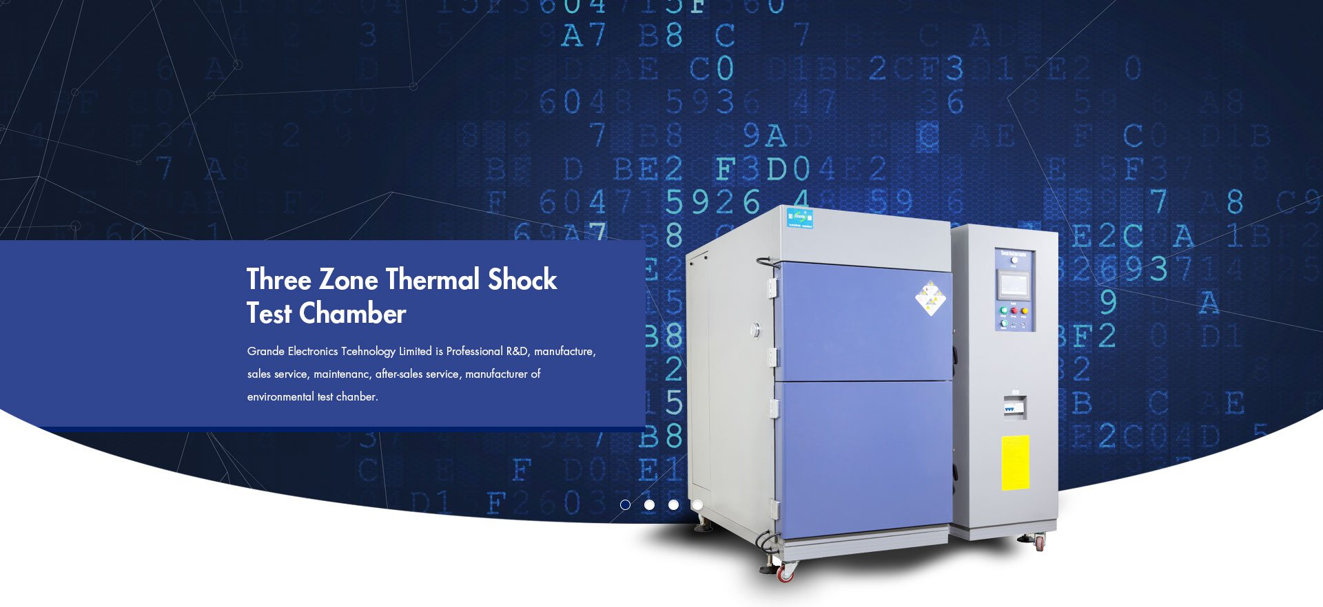 Temperature Only Test Chamber