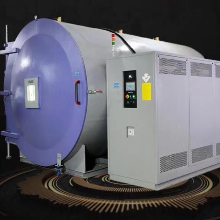 Thermal vacuum test system