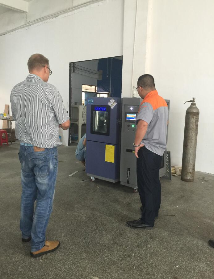 Thanks for customers visiting our factory from Switzerland1