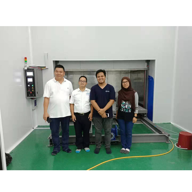 Grande's technical team offering Installation and Training in Malaysia