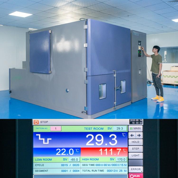 380℃ Thermal Shock Test at Grande