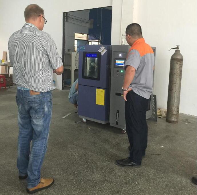 Thanks for customers visiting our factory from Switzerland