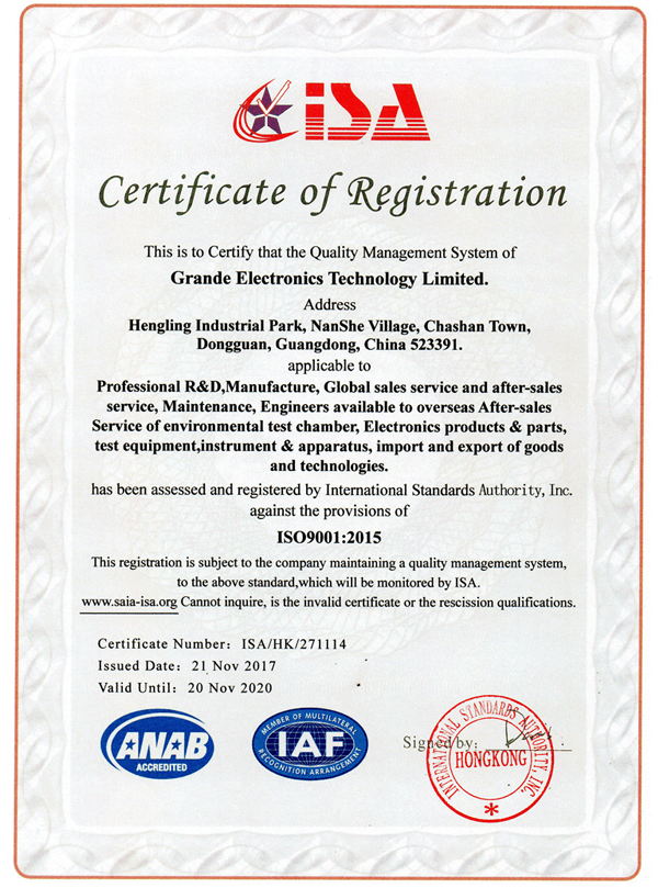 ISO9001 2015 Qaulity Management System