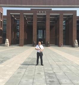 Pre-sales service in TianJin University