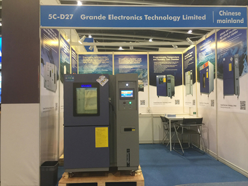 Grande Electronics Technology Limited is attending a Trade show of The 7th Shanghai International Testing Machine & Environmental Test Device Expo 2019