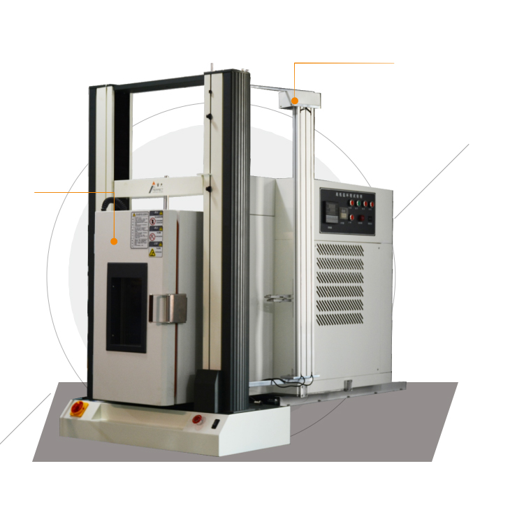 Integrated Tensile and Environmental Test Chamber